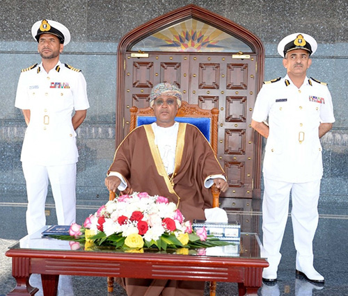 Royal Navy of Oman Celebrates Armed Forces Day