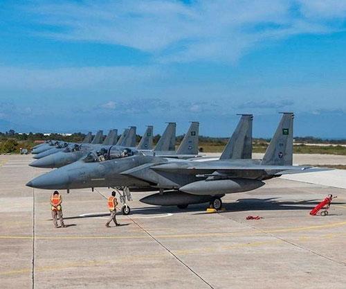 Royal Saudi, Greek Air Forces to Hold 'Eagle Eye 1' Drills