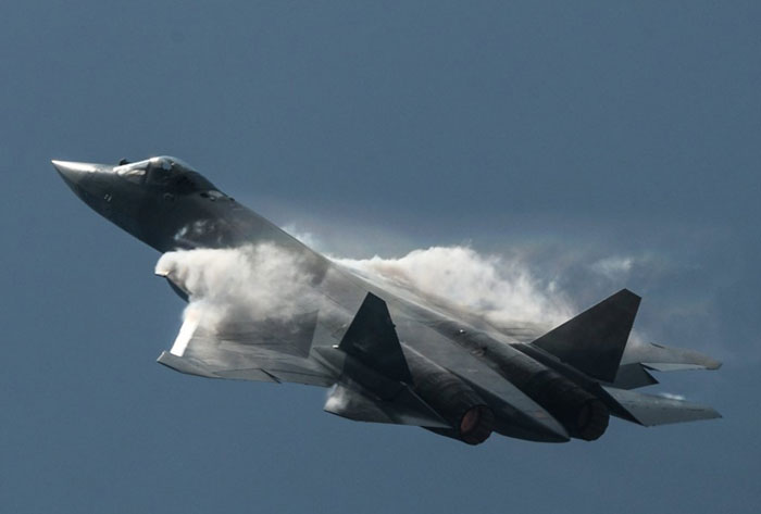 Russia's 5th Generation T-50 Fighter to Enter Service this Year