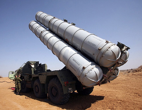 Russian Defense Ministry Releases Video of S-300 Delivery to Syria
