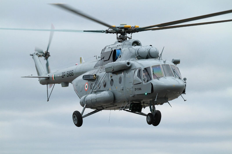 Russian Helicopters Eyes Mi-17 Maintenance Agreement with India's Ministry of Defense