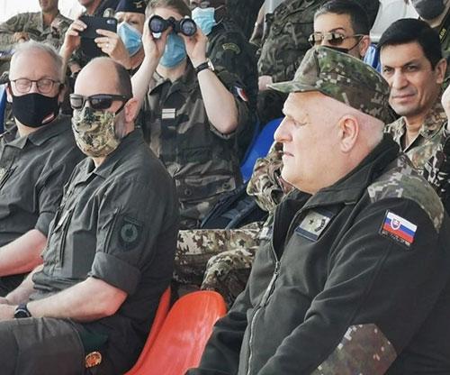 Russian MoD Hosts Live Firing Demos for International Military Attachés