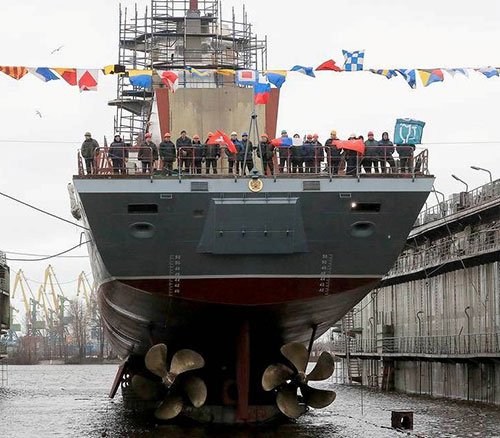 Russian Navy to Receive Some 40 Warships in 2020