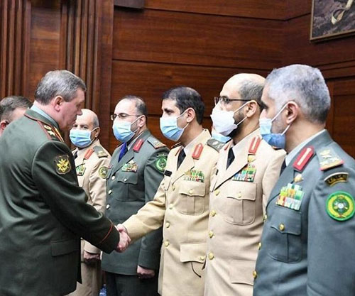 Saudi Chief of General Staff Attends IX Moscow Conference on International Security