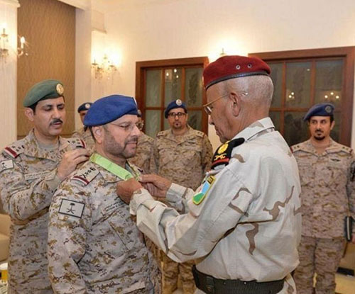Saudi Chief of General Staff Decorated by Djiboutian Counterpart