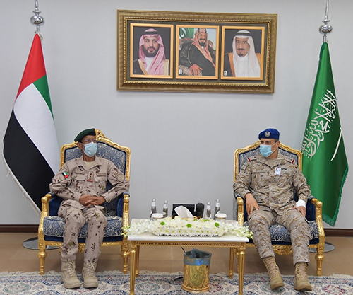Saudi Chief of General Staff Receives UAE Counterpart