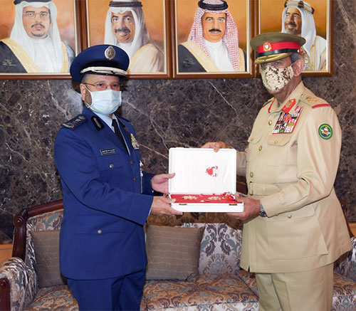 Saudi Chief-of-Staff Awarded Bahraini Medal First Degree