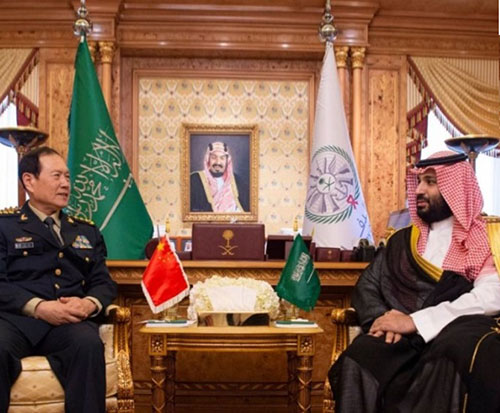 Saudi Crown Prince Receives Chinese Defense Minister