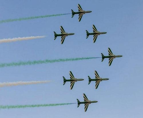 Saudi Falcons Took Part in IADE Exhibition in Tunisia