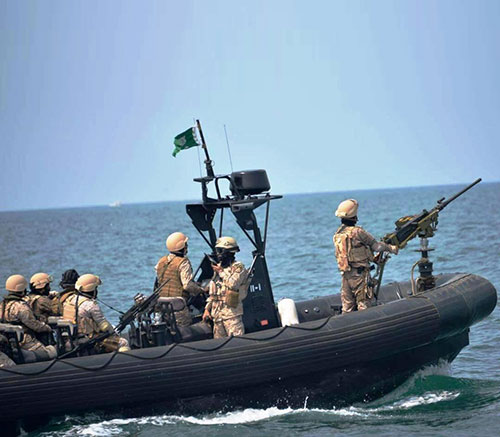 Saudi Navy Takes Over Command of Mixed Duty Force from French Counterpart