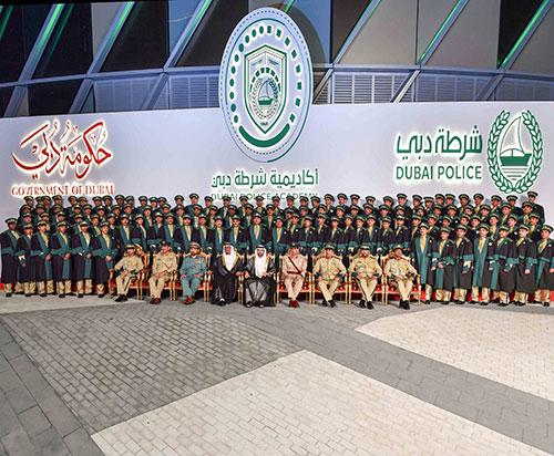 Sheikh Hamdan Honors 27th Batch of Dubai Police Academy Cadets