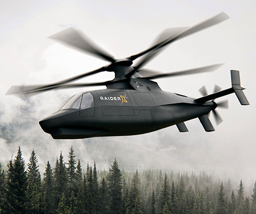 Sikorsky Introduces RAIDER X Light-Attack Reconnaissance Helicopter