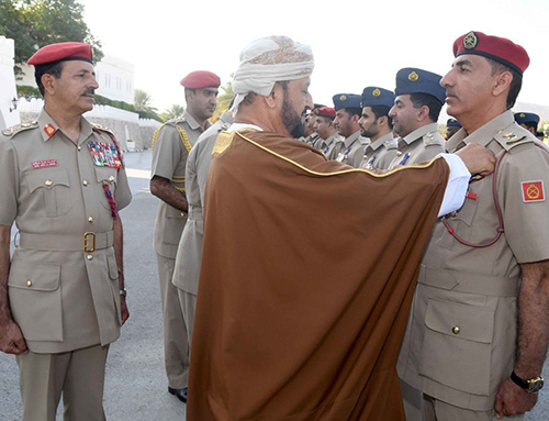 Sultan Qaboos Confers Royal Commendation Medals