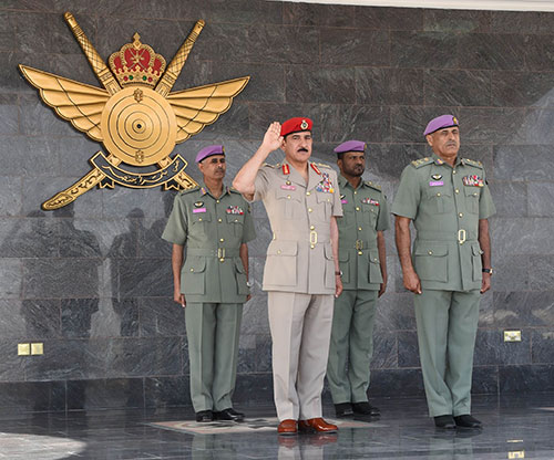 Sultan Special Force Celebrates Annual Day in Muscat