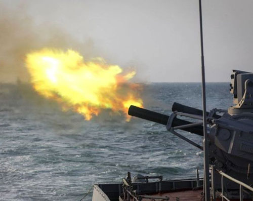 Syrian, Russian Navies Hold Exercises in Mediterranean Sea