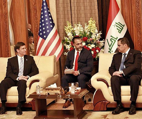 U.S. Defense Secretary Concludes Visit to Iraq