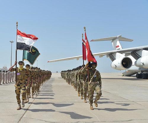 UAE, Egypt Start 'Zayed 3' Joint Military Exercise