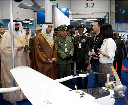 UAE's Deputy Prime Minister Opens UMEX/SimTEX 2020
