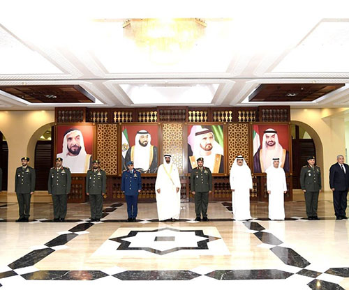 UAE's Supreme Council of Military Judiciary Holds First Meeting