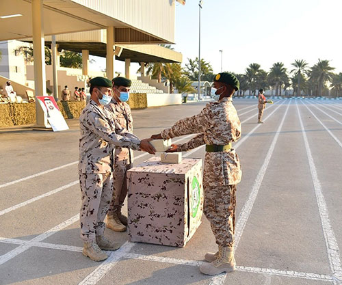 UAE Armed Forces Celebrate Graduation of 14th Batch of National Service Recruits
