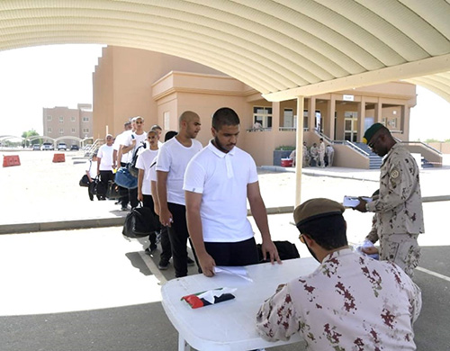 UAE Armed Forces Training Centers Receive 10th Batch of Recruits