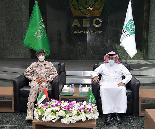 UAE Chief-of-Staff Visits AEC, Al Salam Aerospace, IMCTC