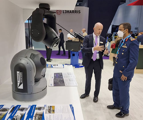 UAE Concludes its Participation in DSEI 2021