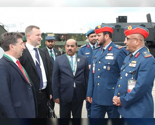 UAE Defense Delegation Visits 'MILEX-2019' in Belarus