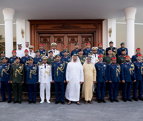 """UAE Holds """"First Summit for Military Attachés"""""""