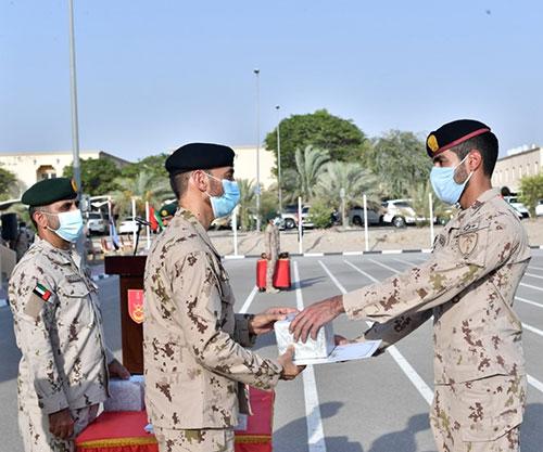 UAE Land Forces Commander Attends Graduation Ceremony