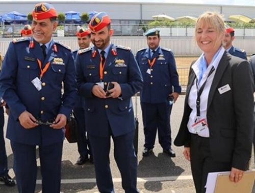 UAE Ministry of Defense Delegation Visits Farnborough Airshow