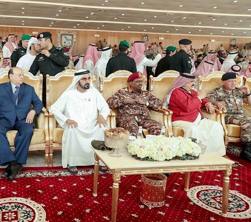 UAE VP, Abu Dhabi Crown Prince Attend Joint Gulf Shield I