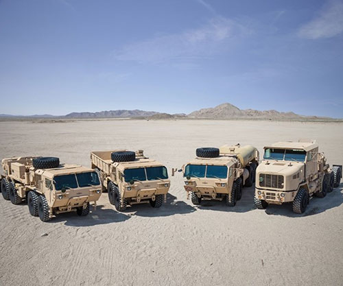 US Army Awards Oshkosh Defense Extension to FHTV IV Contract