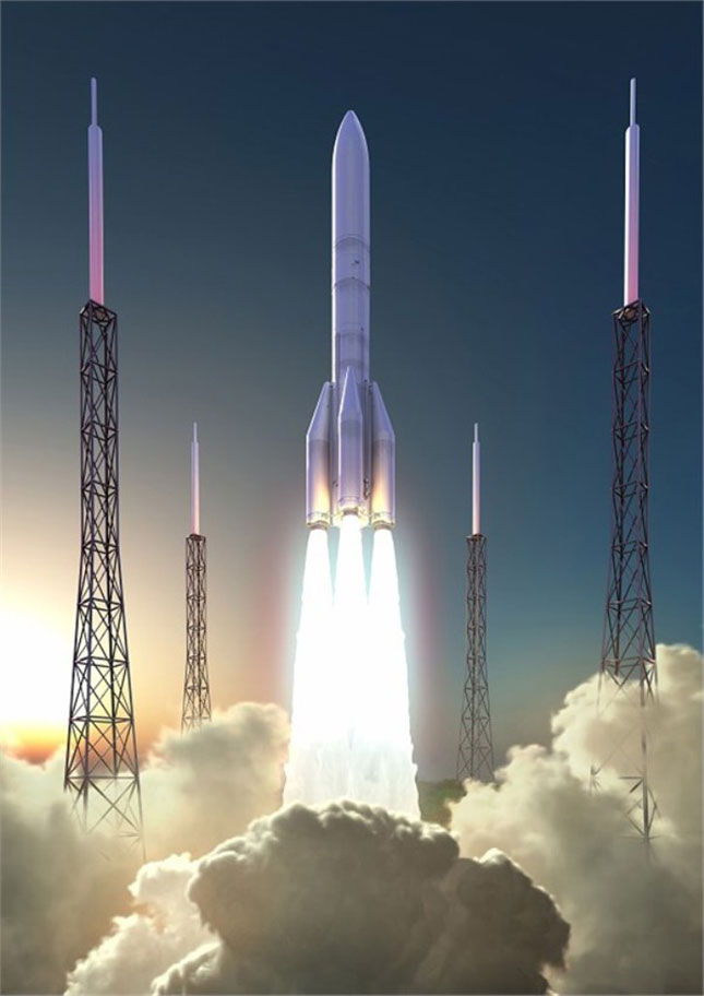 Airbus Safran Launchers Joint Venture Finalized