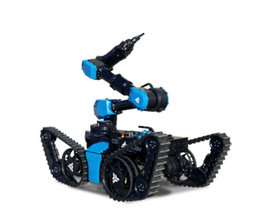 aunav Launches World's First Explosive Disposal Robot with Variable Geometry