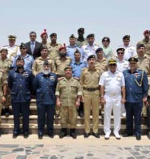 Pakistani Defense College Delegation Tours Bahrain's National Guard