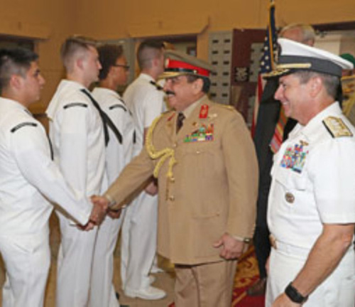 Bahrain's King Visits US Naval Support Activity