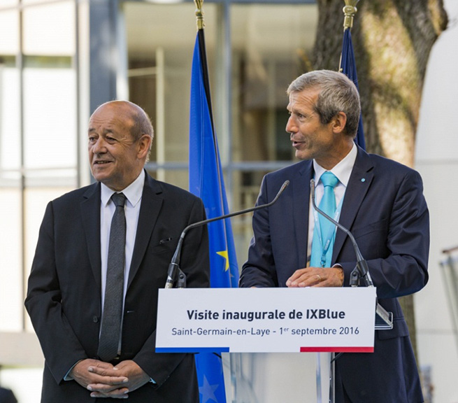 iXBlue Opens New Research Facility in France