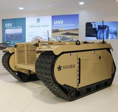 IGG, Milrem to Co-Develop and Arm a Military UGV