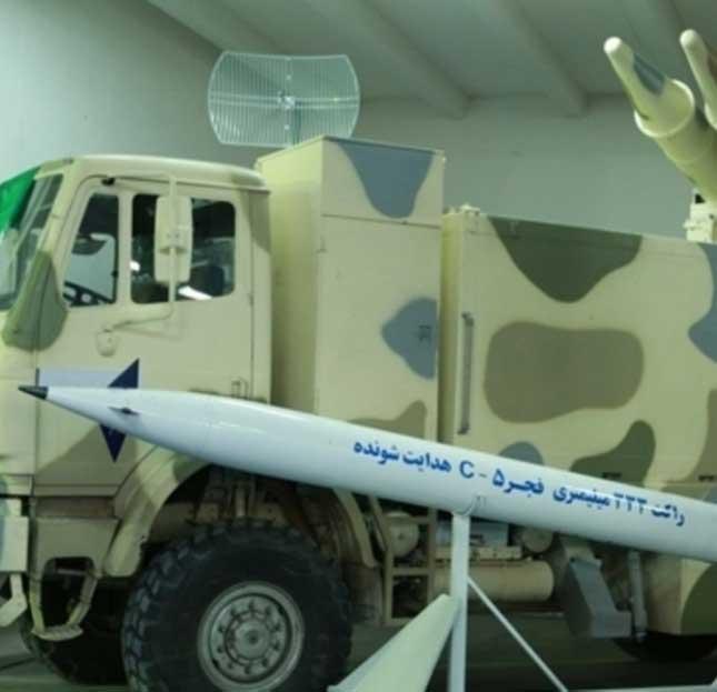 Iran Unveils Five Combat, Defense Products