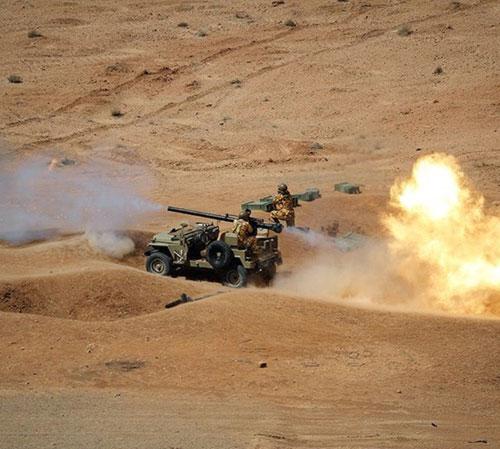 Iran's Ground Force Conducts Massive Drills