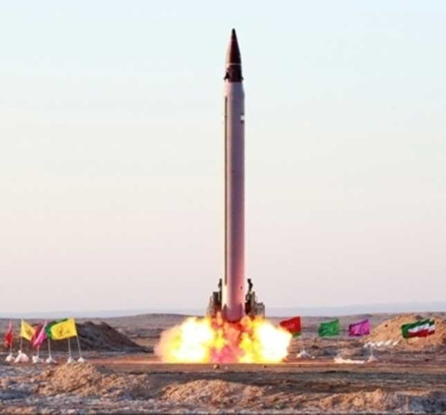 Iran Confirms Recent Missile Test