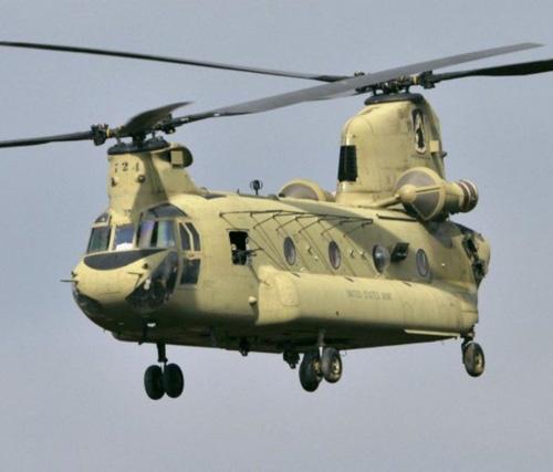 Saudi Arabia Orders 48 CH-47F Chinook Helicopters