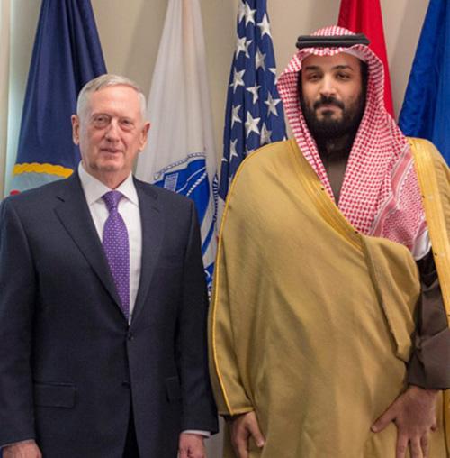 Saudi Deputy Crown Prince Meets US Defense Secretary