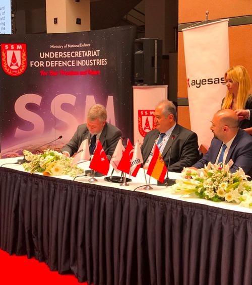 NAVANTIA, AYESAŞ Sign Cooperation Agreement