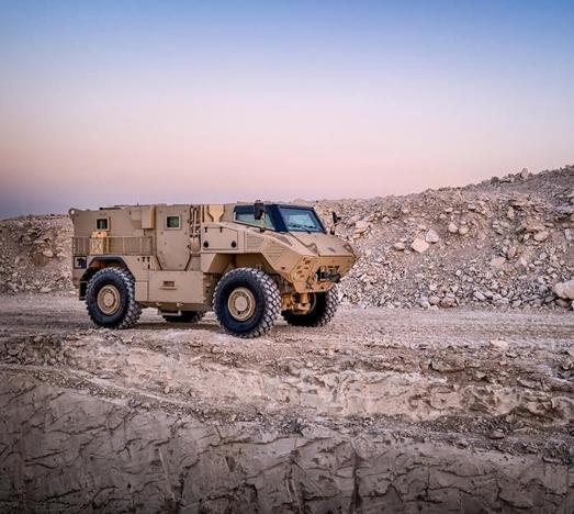 N-35 combat armored 4-wheel-drive
