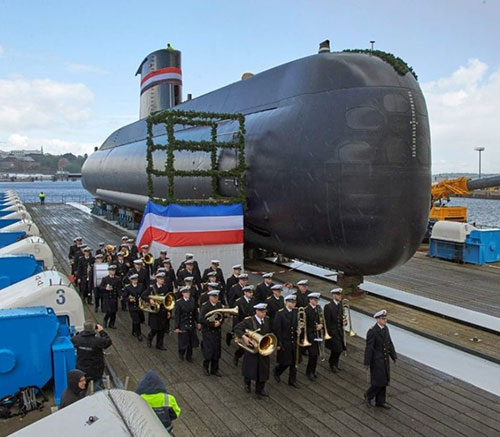 Report: Germany Approves Delivery of Third Submarine to Egypt