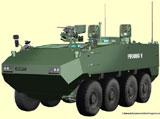 GD to Offer PIRANHA 5 with Rheinmetall's LANCE