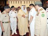 Prince Salman Visits Saudi Naval Forces Command