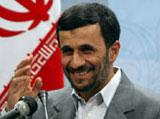 Iranian President Mahmoud Ahmadinejad said he would welcome a